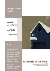mostra 212x300 - Venerdi 27 settembre ore 18.30 Libreria di Via Volta - Inaugurazione mostra E se