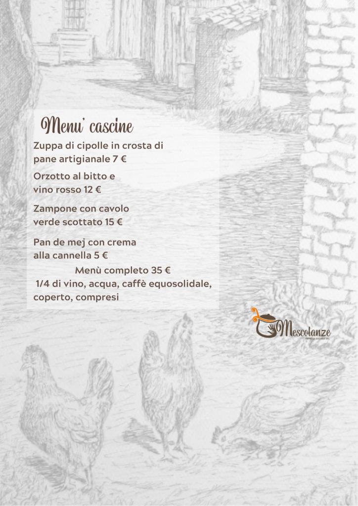 menu cascine 2 724x1024 - 25 Gennaio 2020 0re 18.30 inaugurazione mostra d'arte di Luigi Marelli in arte Giscio